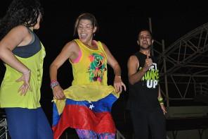 We dance celebró su primer aniversario promoviendo la salud y alegría