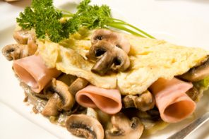 Omelette especial de desayuno para el Día del Padre