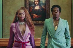 Beyoncé y Jay-Z hacen de las suyas en su video nuevo