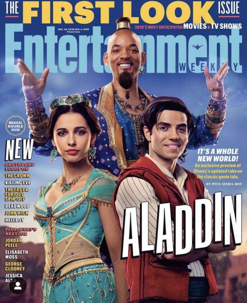 Aladdin llega a la pantalla con personajes de carne y hueso